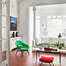 Фото из портфолио  Богатая палитра цветов в буржуазном особняке Перпиньян – фотографии дизайна интерьеров на INMYROOM