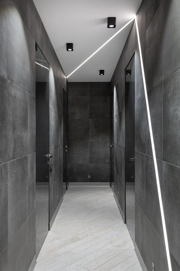 Фотография: Прихожая в стиле Современный, Квартира, Проект недели, Реутов, 4 и больше, Более 90 метров, Марина Курганова – фото на INMYROOM