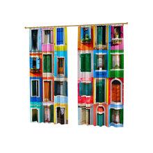 Оригинальные фотошторы: Цветные окна