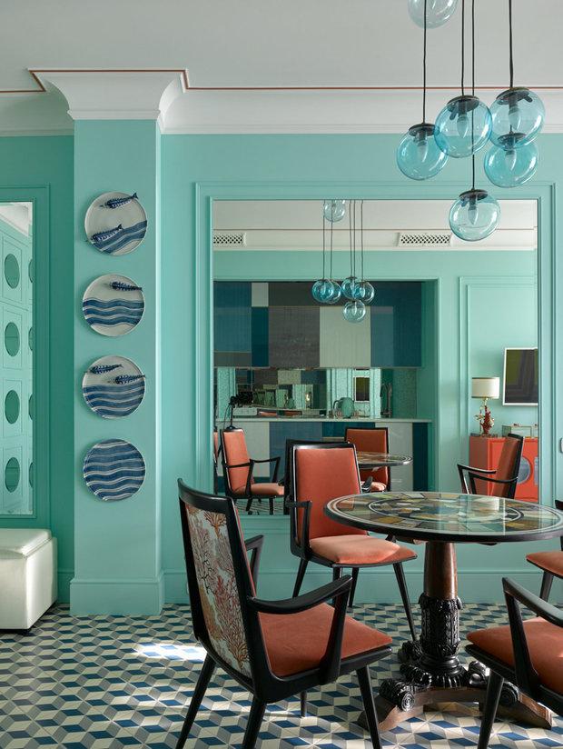 Фотография: Кухня и столовая в стиле Эклектика, Гостиная, Советы, Гид – фото на INMYROOM
