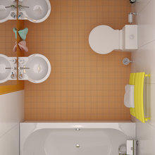 Фотография: Ванная в стиле Современный, Декор интерьера, Дом, Massive, Дома и квартиры, Проект недели, B&B Italia – фото на InMyRoom.ru