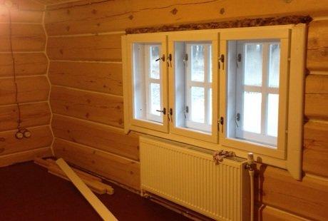 Помогите оформить спальню в деревянном доме