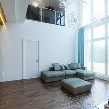 Фото из портфолио Сертолово. Загородный дом – фотографии дизайна интерьеров на INMYROOM