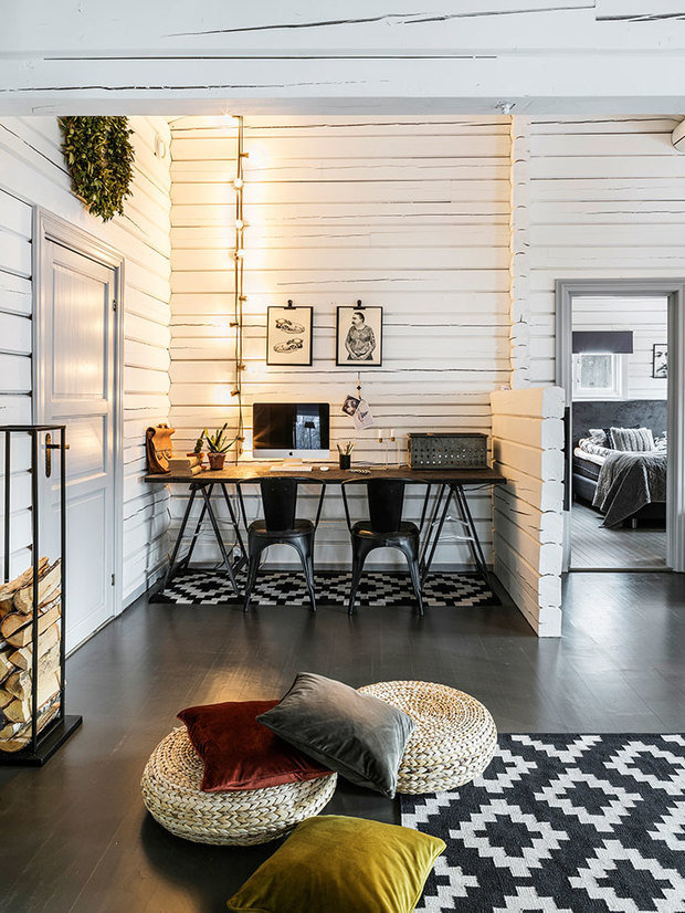 Фотография: Кабинет в стиле Скандинавский, Декор интерьера, Швеция, Дом и дача – фото на InMyRoom.ru