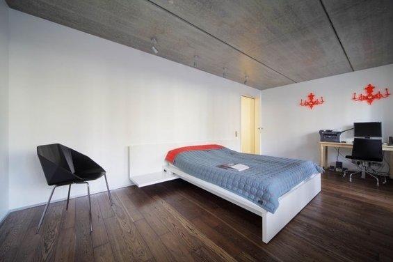 Фотография: Спальня в стиле Лофт, Квартира, Дома и квартиры, Минимализм, Градиз – фото на InMyRoom.ru