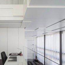 Фото из портфолио Двухуровневый белоснежный пентхаус в Израиле – фотографии дизайна интерьеров на INMYROOM