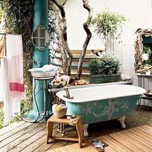 Фотография: Ванная в стиле Кантри, Спальня, Декор интерьера, Декор дома, Свечи – фото на InMyRoom.ru