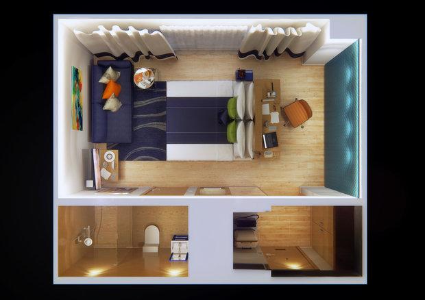 Фото из портфолио Комплектация отелей под ключ – фотографии дизайна интерьеров на INMYROOM