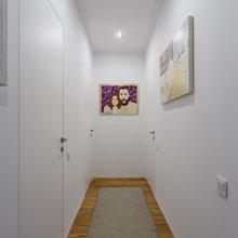 Фотография: Прихожая в стиле Скандинавский, Современный, Квартира, Проект недели – фото на InMyRoom.ru