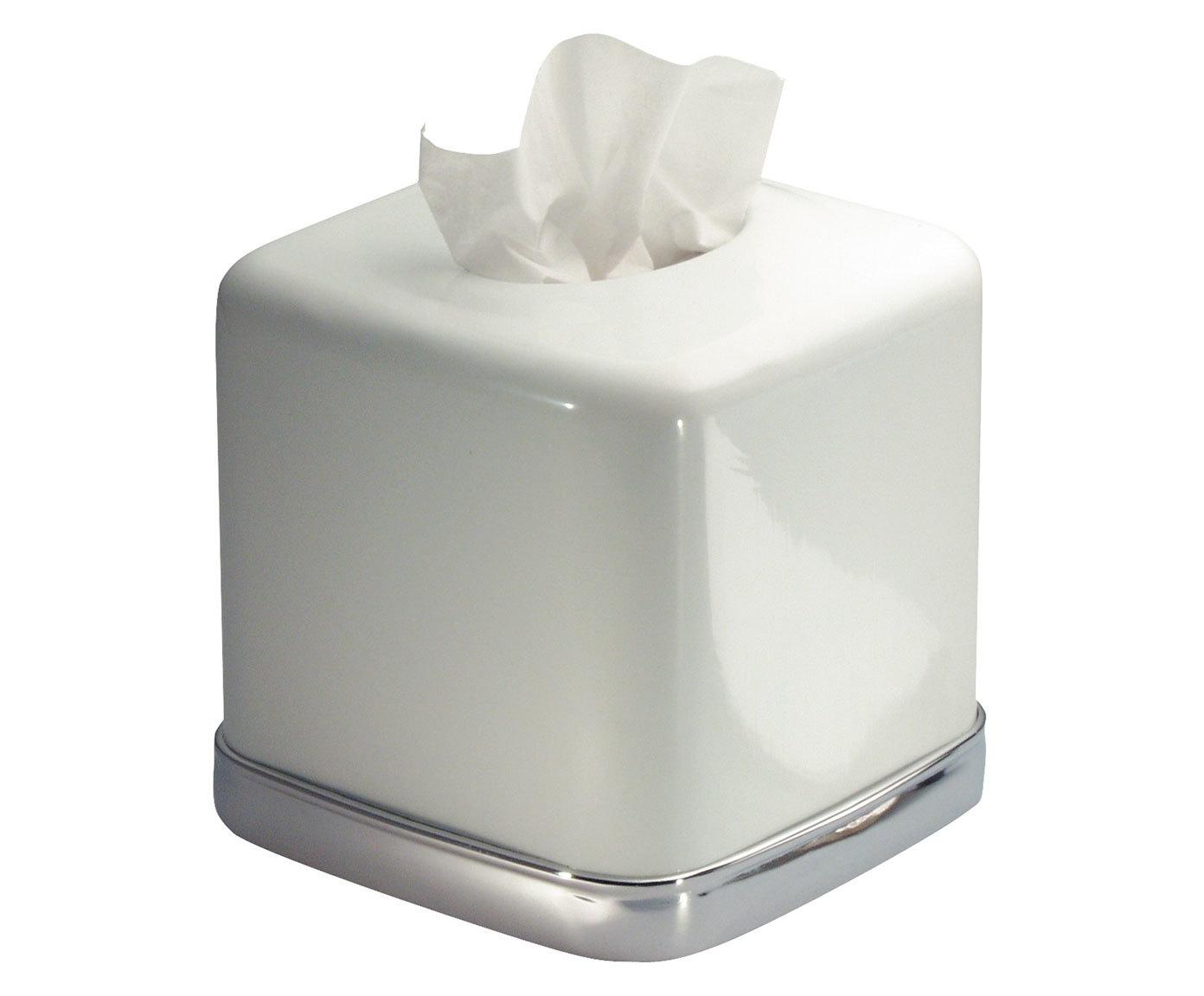 Фото #1: Салфетница York белого цвета