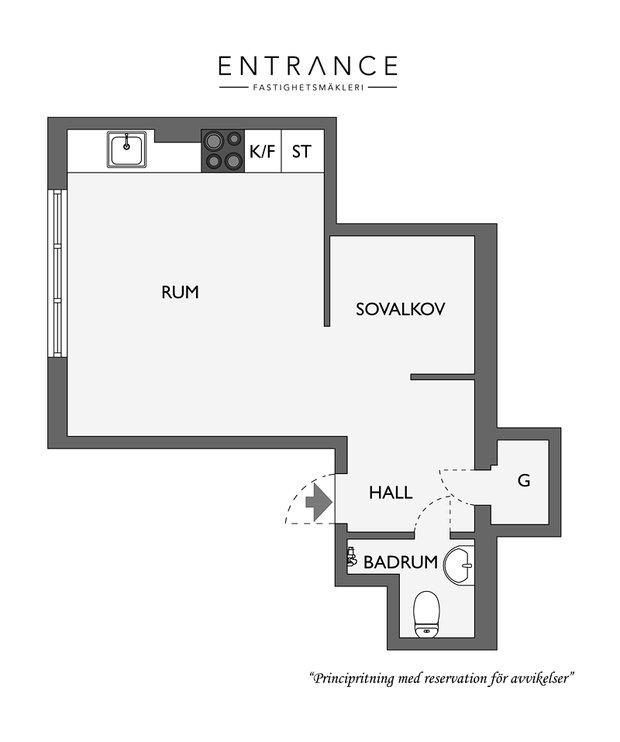Фотография:  в стиле , Скандинавский, Декор интерьера, Квартира, Студия, до 40 метров – фото на InMyRoom.ru