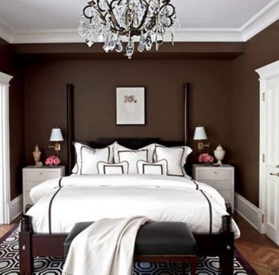Фотография: Спальня в стиле Восточный, Декор интерьера, Дизайн интерьера, Цвет в интерьере, Советы, Коричневый – фото на INMYROOM