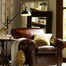 Фотография: Кабинет в стиле Кантри, Декор интерьера, Дом, Декор дома – фото на InMyRoom.ru