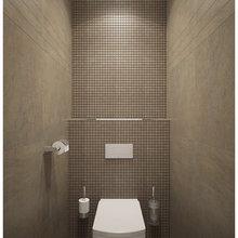 Фотография: Ванная в стиле Современный, Декор интерьера, Квартира, Tashoti, Дома и квартиры, Проект недели – фото на InMyRoom.ru