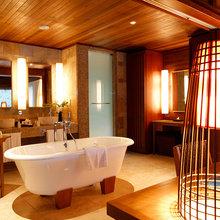Фотография: Ванная в стиле Кантри, Дома и квартиры, Городские места, Отель, Проект недели – фото на InMyRoom.ru