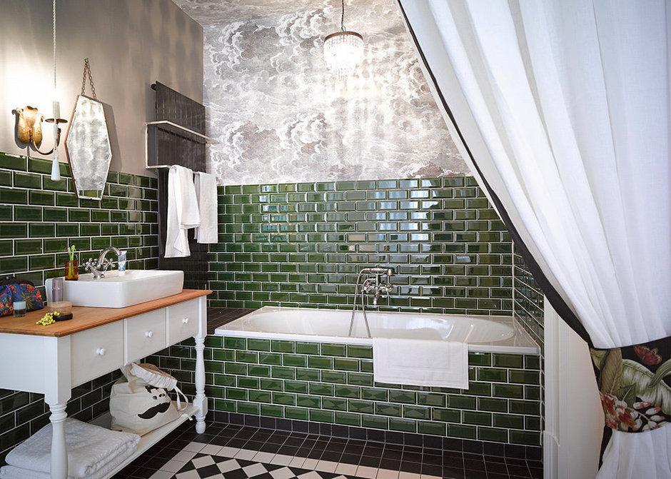 Фотография: Ванная в стиле , Квартира, Германия, Дома и квартиры – фото на InMyRoom.ru