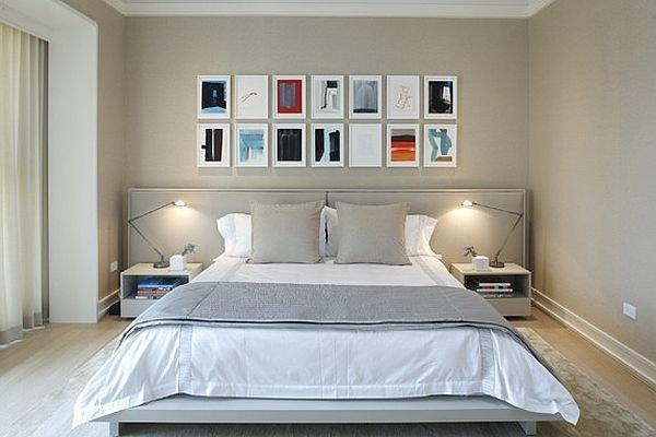 Фотография: Спальня в стиле Лофт, Современный, Декор интерьера, Декор дома, Стены, Картины, Постеры – фото на InMyRoom.ru