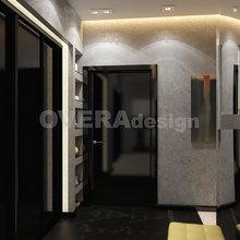 Фото из портфолио Дизайн-проект 2x комнатной квартиры 85 кв.м. – фотографии дизайна интерьеров на INMYROOM