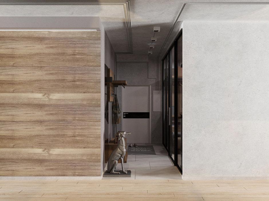 Фотография: Прихожая в стиле Современный, Квартира, Проект недели, Евгения Ермолаева, EEDS, 2 комнаты, 60-90 метров, Монолитно-кирпичный, ЖК Квартал 9/18 – фото на InMyRoom.ru