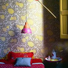 Фотография: Спальня в стиле Кантри, Современный, Эклектика, Декор интерьера, Квартира, Дома и квартиры, Прованс – фото на InMyRoom.ru