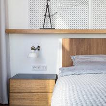 Фотография: Спальня в стиле Современный, Лофт, Квартира, Проект недели, Киев, новостройка, Монолитный дом, 2 комнаты, 60-90 метров – фото на InMyRoom.ru