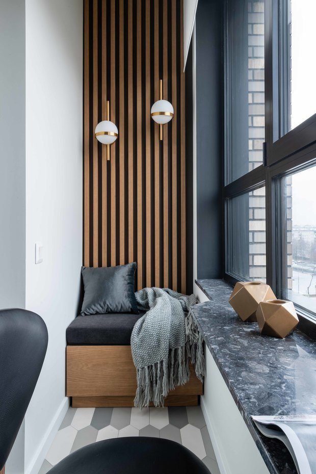 Фото из портфолио Современная квартира в ЖК Ясный – фотографии дизайна интерьеров на INMYROOM