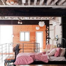Фото из портфолио Трансформация гаража в красивый и романтичный дом – фотографии дизайна интерьеров на INMYROOM