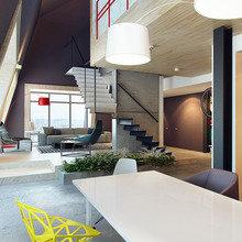 Фотография: Кухня и столовая в стиле Лофт, Современный, Эклектика – фото на InMyRoom.ru