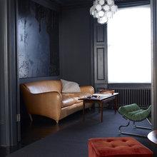 Фотография: Гостиная в стиле , Декор интерьера, Дизайн интерьера, Цвет в интерьере – фото на InMyRoom.ru