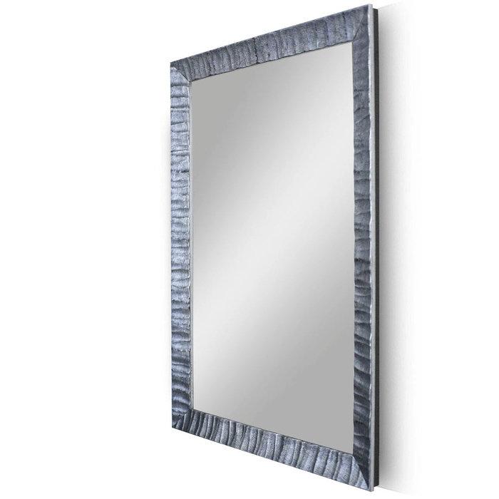 """Зеркало в деревянной раме """"Синяя Гранада"""""""