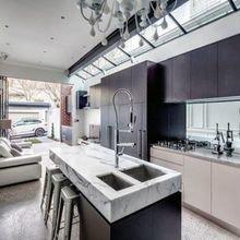 Фотография: Кухня и столовая в стиле Лофт, Классический, Современный, Дом, Дома и квартиры – фото на InMyRoom.ru