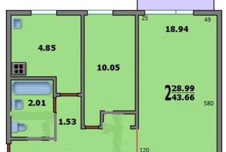 Помогите расставить мебель в комнате 18кв.м