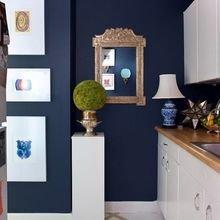 Фотография: Кухня и столовая в стиле Кантри, Советы, Синий, Виктория Тарасова – фото на InMyRoom.ru