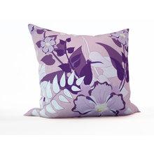 Декоративная подушка: Сиреневые тропики