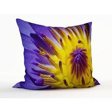 Диванная подушка: Лиловый цветок