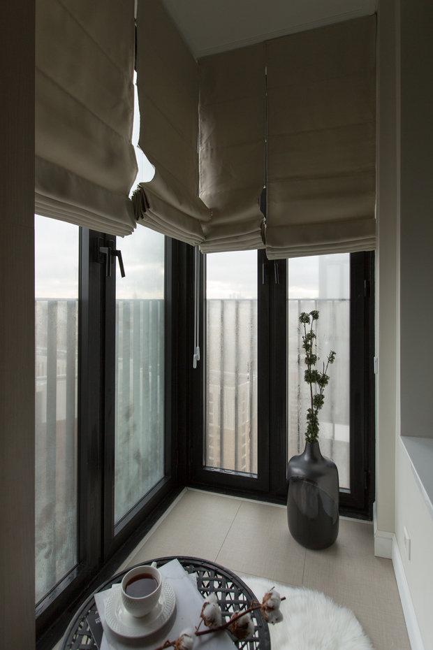 Фотография: Балкон в стиле Современный, Квартира, Проект недели, Москва, 3 комнаты, 60-90 метров, Анастасия Бондарева – фото на INMYROOM