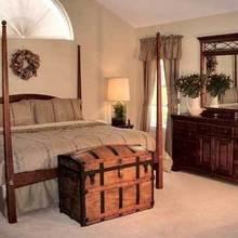 Фотография: Спальня в стиле Кантри, Эклектика, Дом, Дома и квартиры, Колониальный – фото на InMyRoom.ru