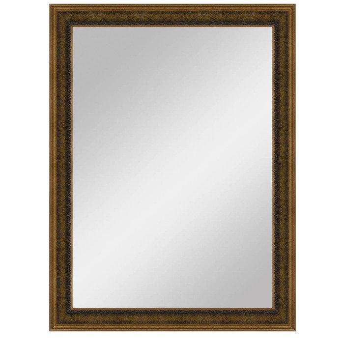 """Зеркало большое в коричневой раме """"Вальтер"""""""