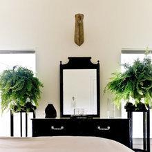 Фотография: Спальня в стиле Современный, Декор интерьера, Флористика, Декор, Советы – фото на InMyRoom.ru