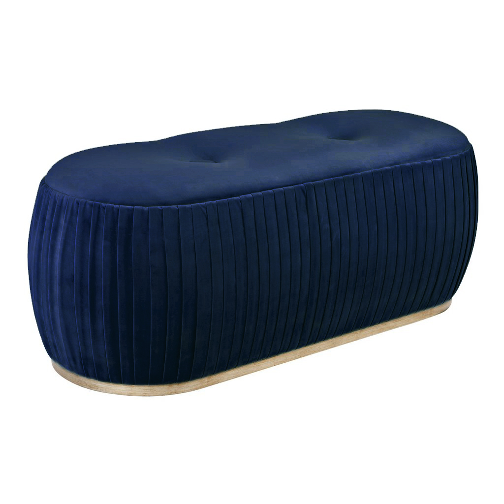 Купить Пуф Souffle темно-синего цвета, inmyroom, Россия