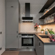 Фото из портфолио Великолепные оттенки серого – фотографии дизайна интерьеров на InMyRoom.ru