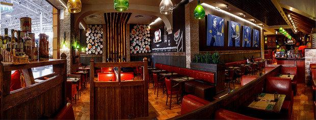 Фото из портфолио рестораны - пиццерии – фотографии дизайна интерьеров на INMYROOM