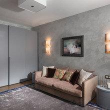 Фотография: Гостиная в стиле Классический, Современный, Эклектика, Квартира, Проект недели – фото на InMyRoom.ru