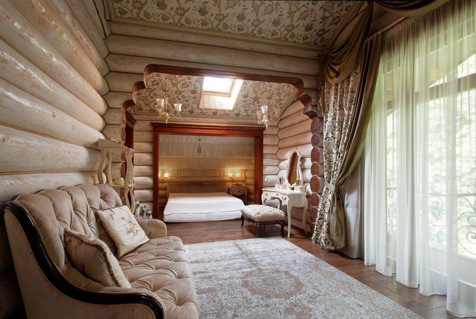 Фотография: Спальня в стиле Прованс и Кантри, Дом, Дома и квартиры, Проект недели, Дача – фото на InMyRoom.ru