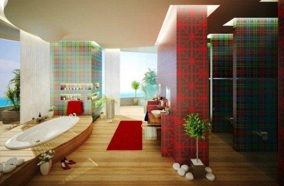 Фотография: Ванная в стиле Современный, Эко, Декор интерьера, Декор дома, Прованс, Пол – фото на InMyRoom.ru