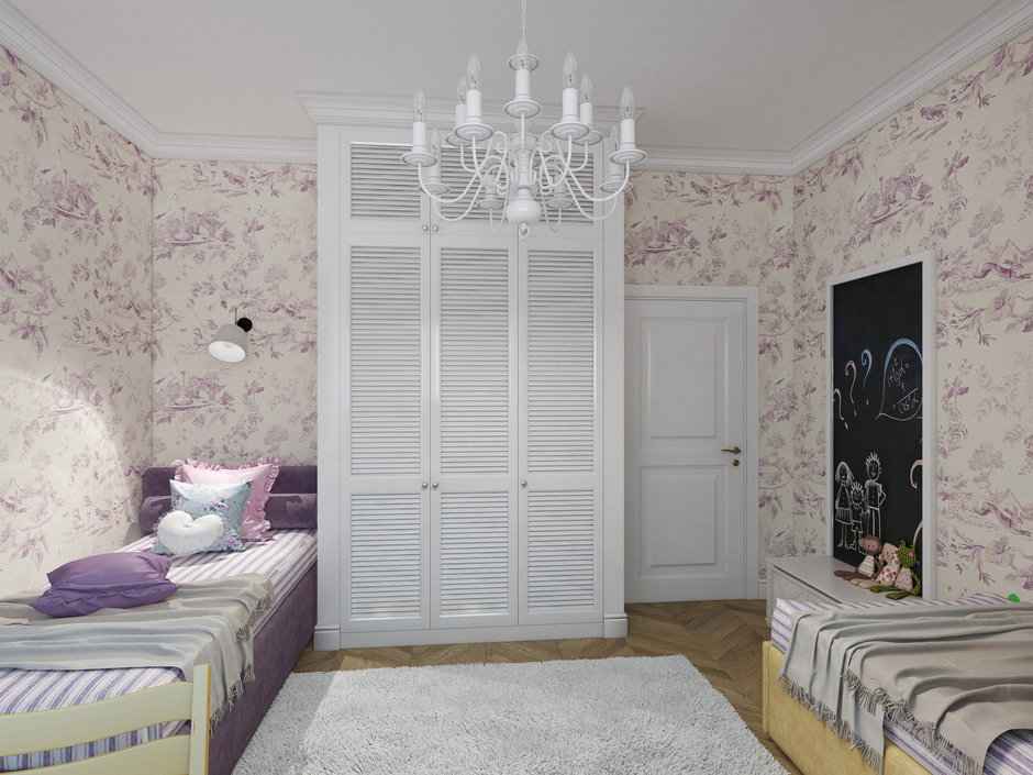 Фотография:  в стиле , Проект недели, Москва, Светлана Старцева, 3 комнаты, Более 90 метров, ЖК «Кристалл» – фото на InMyRoom.ru