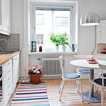 Фотография: Кухня и столовая в стиле Скандинавский, Планировки, Советы – фото на InMyRoom.ru