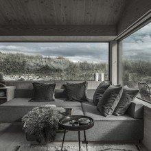 Фото из портфолио Удивительный монохромный летний коттедж в Дании – фотографии дизайна интерьеров на InMyRoom.ru
