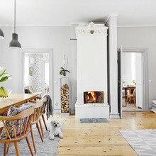 Фото из портфолио  Östra Storgatan 49 C – фотографии дизайна интерьеров на InMyRoom.ru