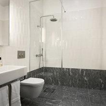 Фотография: Ванная в стиле Современный, Скандинавский, Декор интерьера, Малогабаритная квартира, Квартира, Швеция – фото на InMyRoom.ru